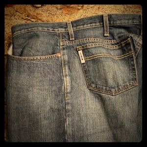 Cinch jeans / starched 36/36